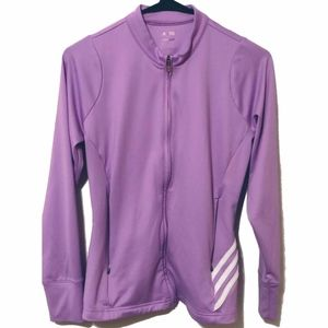 Adidas Women's Climalite Zip-up Size Small
